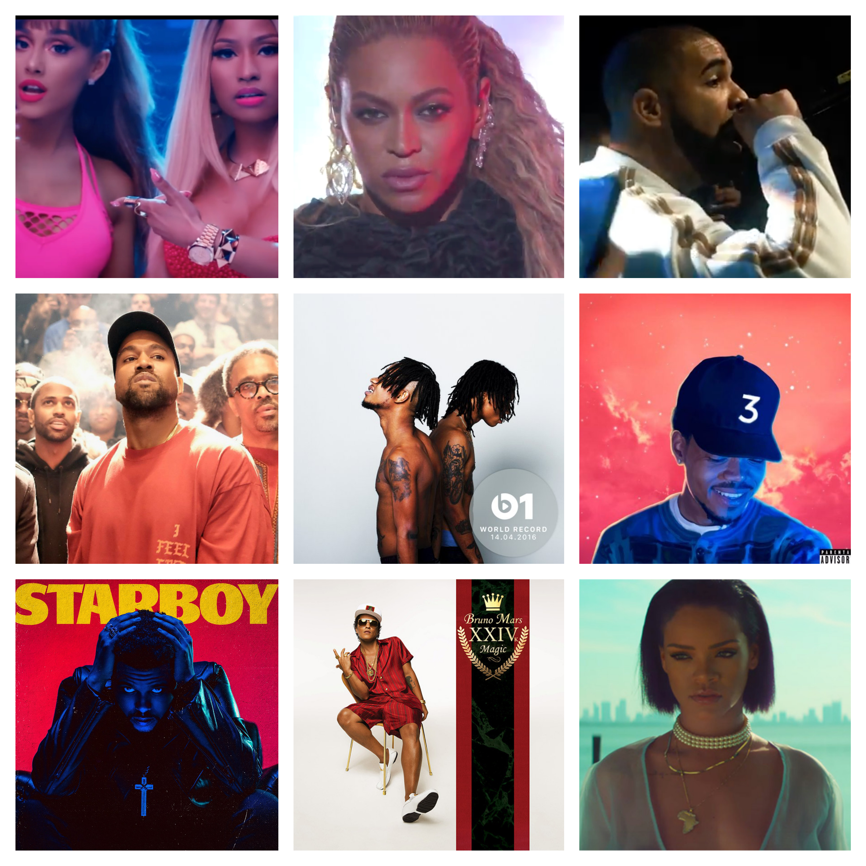 List Love This Tracks Top 20 RB And Hip Hop Songs Of 2016