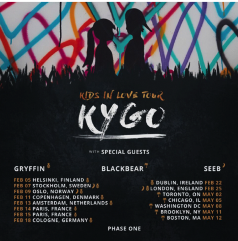 Kygo tour dates in Sydney